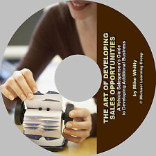 Auto Sales Training -The Art of Developing Auto Sales Opportunities eBook on CD