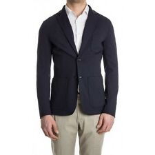 Ermenegildo Z ZEGNA Navy Fitted Patch Pocket Sports Blazer / Jacket RRP: £495.00