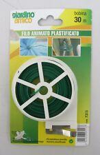 Giardino amico bobina 30 mt filo animato plastificato 7213 x legare piante buste