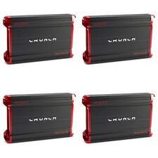 Crunch Powerzone 1800W 2 Channel Car Audio Class A/B MOSFET Amplifier (4 Pack)