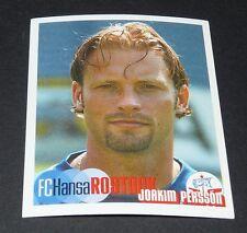 425 PERSSON SVERIGE HANSA ROSTOCK PANINI FUSSBALL 2002-2003 BUNDESLIGA FOOTBALL