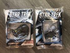 More details for star trek eaglemoss 161 169 void ship and kes' shuttle brand new and sealed