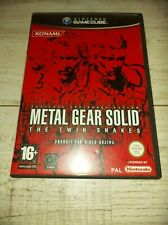 Metal Gear Solid: The Twin Snakes (GameCube, 2004, PAL) - COMPLET - RARE