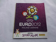 Panini EM 12 UEFA Euro 2012 internationale Version - Leeralbum