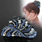 Crystal Hair Claw Colorful Shiny Hair clips Barrettes Ladies Rhinestone Hairpin