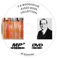 PG Wodehouse Audio Book Collection MP3 On DVD free delivery 1st class post 96