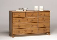 Steens Richmond Solid Pine 2+3+4 Chest of Drawers Metal Drawer Runners