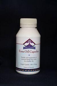 Emu Oil Capsules (100*1000mg)