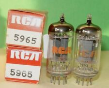 2 RCA 5965 Vacuum Tubes Very Strong