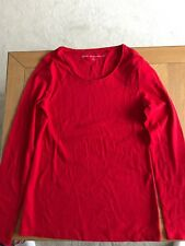 New Next Red Long Sleeve Top Size 12