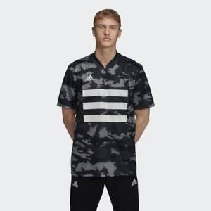adidas Men's AOP Camo TAN Graphic Jersey DY5843