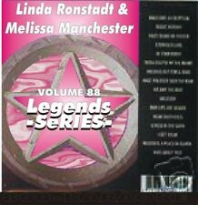 Linda Ronstadt Melissa Manchester Legends Karaoke CDG Blue Bayou DIFFERENT DRUM