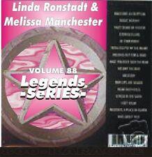 Linda Ronstadt Melissa Manchester Legends Karaoke CDG Blue Bayou DIFFERENT DRUM