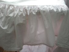 "Simply Shabby Chic Target Light Pink Ruffled Bedskirt Dust Ruffle Twin 16"" Drop"