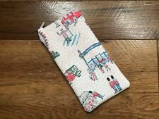 HANDMADE GLASSES SUNGLASSES ZIPPED CASE POUCH - CATH KIDSTON LONDON SPOTS FABRIC
