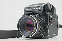 Rare! {Final Model Exc+5} MAMIYA M645 1000S Sekor C 80mm f/2.8 AE Finder From JP