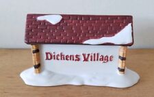 Dept 56 Dickens Village Series 1987 Dickens Village Sign