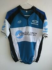 GIANT Bicycling sport jersey with back pockets front zipper  XL