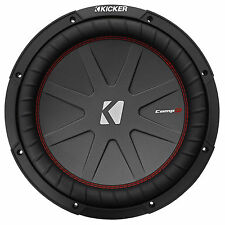 "Kicker 43CWR122 COMPR12 1000 Watt 12"" DVC 2-Ohm Car Audio Subwoofer Sub CWR12-2"