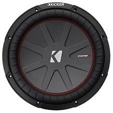"New listing Kicker 43Cwr122 Compr12 1000 Watt 12"" Dvc 2-Ohm Car Audio Subwoofer Sub Cwr12-2"