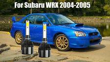 LED For Subaru WRX 2004-2005 Headlight Kit H1 6000K White CREE Bulbs Low Beam