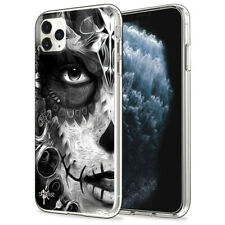 Custodia Cover Morbida INKOVER per iPhone Messicani 4 Mexican Chicana Skull Art