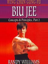 Wing Chun Gung Fu Biu Jee Concepts & Principles #2 Dvd Randy Williams