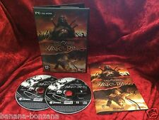 The Lord Of The Rings WAR OF THE RING Pc Cd Rom Original LOTR - FAST POST