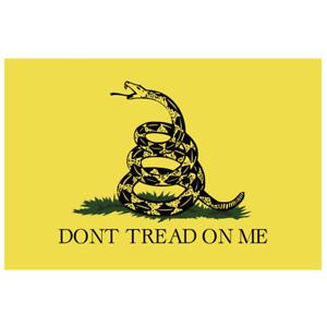DON'T TREAD ON ME GADSDEN FLAG USA DECAL STICKER 3M TRUCK VEHICLE WINDOW CAR GUN