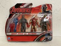 Marvel Avengers Age Of Ultron - Iron Man Vs Ultron - Hasbro 3 Pack Action Figure
