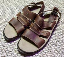 Dr. Marten Men's Sandals. Brand New! US Seller! Doc Marten Brown Leather AirWair