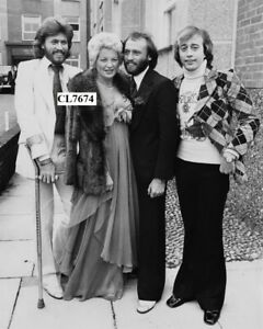 Barry and Robin Gibb of Bee Gees at the Wedding of Maurice and Yvonne Spenceley