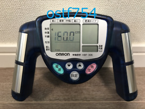 OMRON Body Fat Meter Composition & Scale HBF-306-A Blue Japanese
