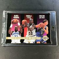 SHAQUILLE O'NEAL SHAQ 1992 SKYBOX HEAD OF THE CLASS DRAFT SERIAL #'D ROOKIE RC