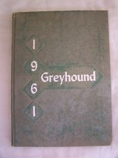 1961 Throckmorton High School Yearbook Throckmorton, Texas Greyhound Unmarked!