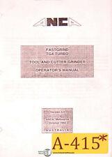 ANCA Fastgrind TG4, Turbo Grinder Operators Manual