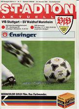 BL 88/89 VfB Stuttgart - SV Waldhof Mannheim