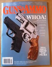 Guns & Ammo April 2014 FREE SHIPPING, 2014 Shot Show Picks, Smith & Wesson, 380
