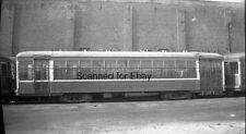 ORIGINAL PHOTO NEGATIVE-Railroad New York & Queens Trolley #25 City Car
