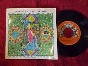 Aladdin und die Wunderlampe   Polydor 45 mit Buch