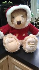 Harrods Uk Large HoliDaY 2009 Hooded Christmas Sweater Bear Knightsbridge