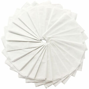 25 White Tissue Paper Sheets Large 66cm x 50cm Quality Gift Wrapping