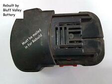 Rebuild / Rebuilt Battery service for Matco Tool MPT192B 19.2 V 3800 mAh NiMh