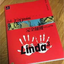 PS LINDA 3 CUBE AGAIN 120 ANIMALS OFFICIAL GUIDE Book