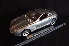 "Maisto Mercedes-Benz SLR ""Vision"" 1:18 silver (JvM)"