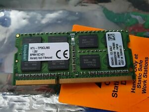 * Kingston 8GB Laptop RAM - KTL-TP3CL/8G