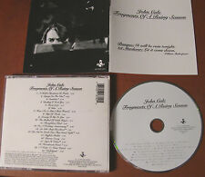 JOHN CALE Fragments of a rainy season- CD- rare Hannibal U.S.A.1992 - HNCD 1372