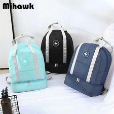 Waterproof Travel Bags Portable Double Layer Duffel Luggage Underwear Storage