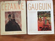 Collection Palettes Cezanne 1950, Gauguin 1948  Written In French