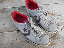 RARES CONVERSE CONS  CUIR GRIS T 38 VINTAGE COLLECTOR A 16€ ACH IMM FP RED MOND